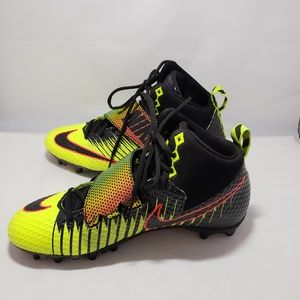 NIKE Force Lunarbeast Strike Cleat Size 10
